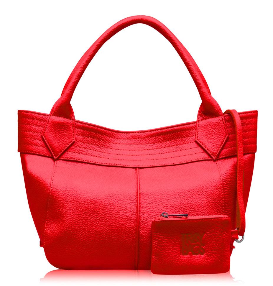 Модель  ASTI стильная красная кожаная сумка. интернет-магазин ... dc2e1a61b53