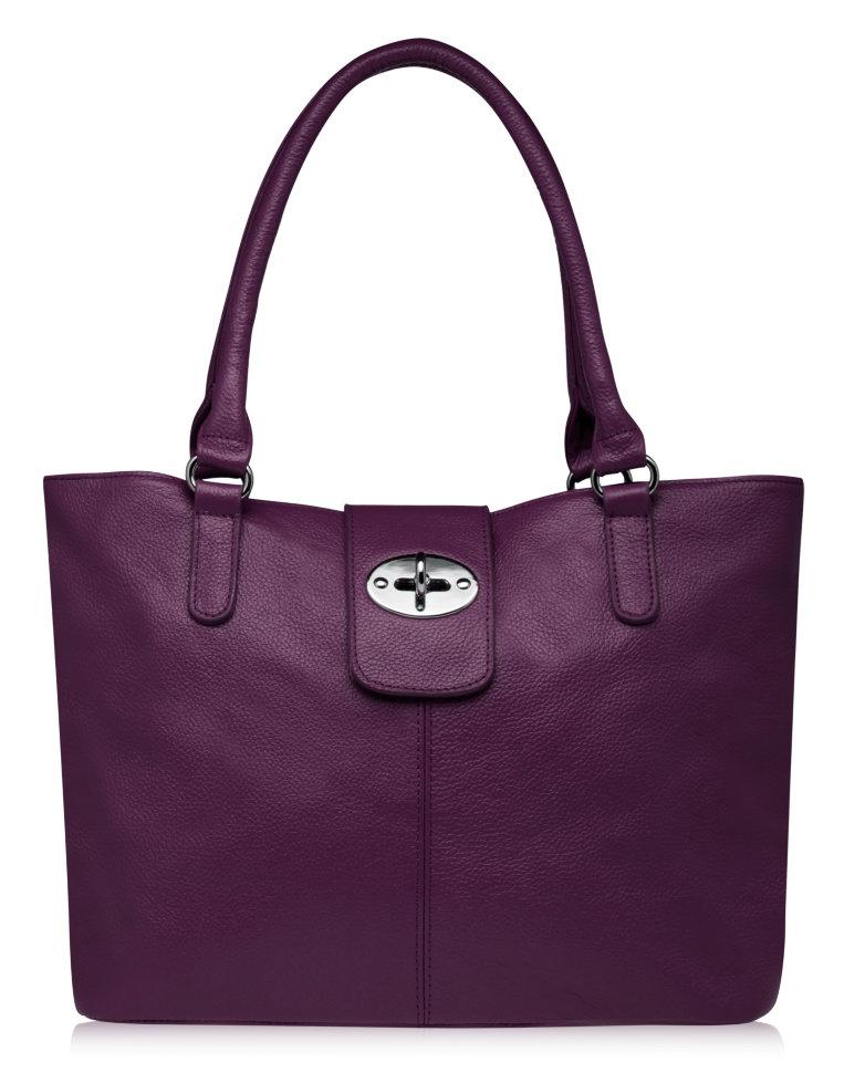 053eabc90ef1 Модель AIDA женственная кожаная сумка сливового цвета www.trendybags ...